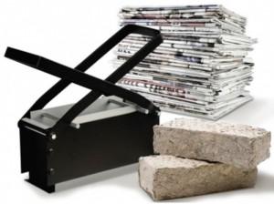 Ladrillos de papel